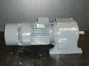 Lafert Motor/Gearbox with brake - Duotek Surplus Machinery